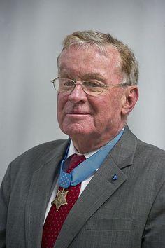 Medal of Honor recipient Thomas G. Kelley.
