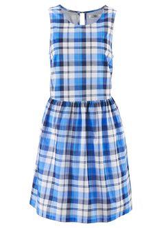 Sukienka w kratę Z tyłu zapięcie na • 99.99 zł • Bon prix