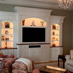 Home Entertainment Center Idea no. 26 (More ideas here)