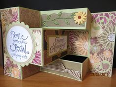 Tri-Shutter Anniversary Card by carleneanne - Cards and Paper Crafts at Splitcoaststampers