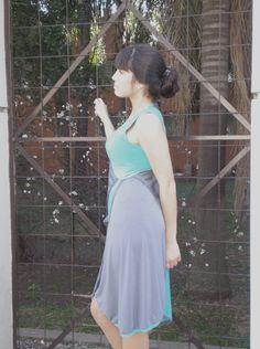 Vestido plano