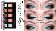 Maya Mia Palette: Sommer MakeUp 2014 #3 Classic Makeup Looks, Sommer Make Up, Beauty Makeup, Eye Makeup, Maya Mia, Beauty Tutorials, Halloween Face Makeup, Eyeshadow, Palette