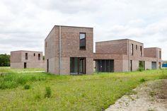 De Gouden Liniaal Architecten Social housing, Houthalen-Oost, Belgium, 2013