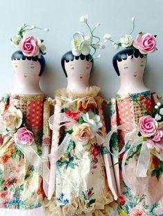 Sophie Tilley's dolls.