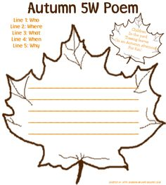 33 best fall poetry for kids images autumn activities autumn poem fall poems. Black Bedroom Furniture Sets. Home Design Ideas