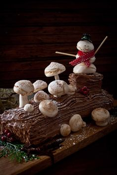 Delicious Shots: Bûche de Noël and a Giveaway!!