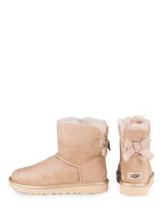 Fell-Boots MINI BAILEY BOW METALLIC. Fall BootsUgg ...