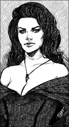 Melisande -sketch- by zeldyn.deviantart.com