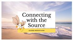 Deep meditation for relaxing and connecting to the Source. Our connection to the Source is eternal. It's always there. Very often we are not consciously aware of it. With this meditation you will be deeply immersed into this sacred connection. Relax and give yourself over to this deep experience.