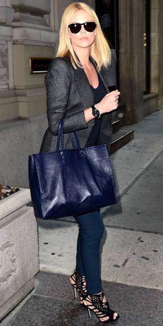 Charlize Theron (<3 Jimmy Choo sandals)