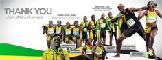 A big thank you to Team Jamaica for an outstanding performance at the Olympics