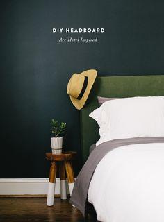 DIY Ace Hotel Inspired Headboard | The Fresh Exchange