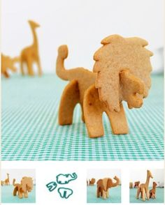 Make your Own Animal Cookies IDEA