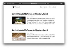 New article: #Zen in the Art of #SoftwareArchitecture Part 2 @ flowtoolz.com  #CleanArchitecture #CleanCode #DesignPatterns #Agile #Craftsmanship News Articles, Pattern Design, Zen, Software, Cleaning, Architecture, Instagram, Arquitetura, Home Cleaning