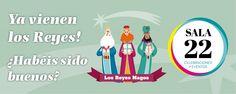 Ya viene los Reyes!! En Sala 22 podrás disfrutar de tus regalos!