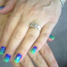 Nails by Erin Hart at the Nail Lounge in Costa Mesa, CA