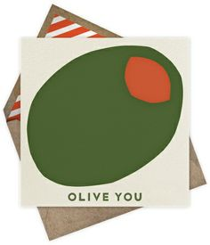 Olive You - Paperless Post