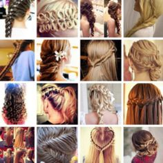 Really cute hairstyles<3