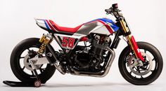 The new Honda CB1100TR concept has been built as a tribute to Marco Simoncelli and unveiled at EICMA in Milan.