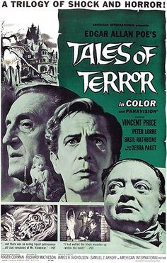 Tales Of Terror - 1962 - Movie Poster