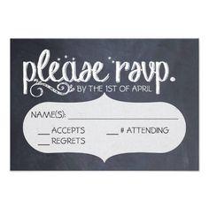 Shop Chalkboard Vintage Wedding RSVP Postcard created by wicked_stationery. Chalkboard Wedding Invitations, Vintage Wedding Invitations, Wedding Rsvp, Wedding Save The Dates, Wedding Stuff, Wedding Bells, Wedding Ideas, Postcard Invitation, Invitation Card Design