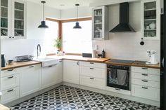 Dom w jabłonkach 8 Home Interior, Kitchen Interior, Kitchen Design, Kitchen Furniture, Furniture Design, Home Kitchens, Decoration, Sweet Home, Home And Garden