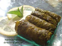 Hace poco uno de nuestros lectores me pidió que le preparara una receta de dolmades griegos. En realidad para mí ha sido un placer hacérsela,...
