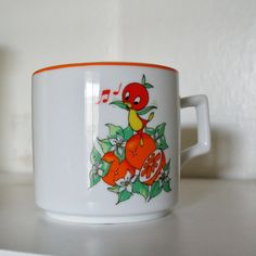 historic Disney World Orange Bird 1970s