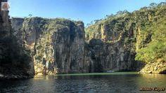 Canyons na Represa de Furnas MG