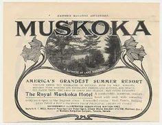 SUMMER RESORT: Muskoka Hotel Resort Lake Rosseau Ontario (1905)