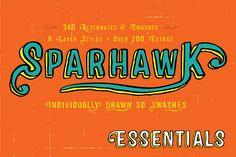 Sparhawk Essentials by Albatross on Creative Market
