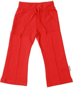 Baba Babywear super cool red milano pocket pants. baba-babywear.en.emilea.be