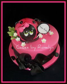 pink lady bug cake,  Go To www.likegossip.com to get more Gossip News!
