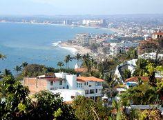 nice view of Puerto Vallarta, Mx.