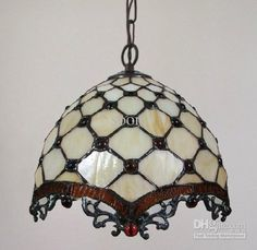 Tiffany Art color glass pendant lamp