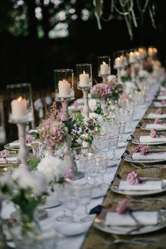 Romantic Blush Wedding at Borgo Stomennano in Tuscany with Lace AllureBridals…