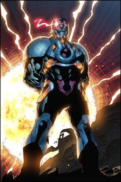 Darkseid. color by Furlani (Bruno Furlani)