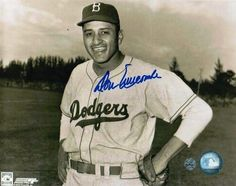 Autographed Don Newcombe Brooklyn Dodgers 8x10 Photo