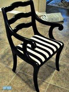 Better After: I've a couple of chairs I could transform in a similar way.