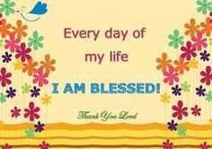 Yes I am! Thank you Lord for taking care of me daily.