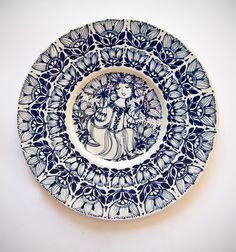 Retro Pottery Net: Bjorn Wiinblad Nymolle Plates