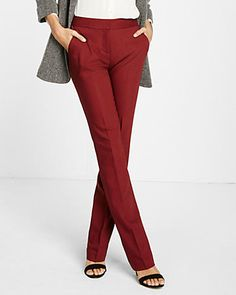 Petite Mid Rise Barely Boot New Waistband Columnist Pant