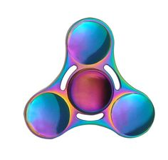 Fidget Spinner Tri-Spinner Colorful Five Beeds Star Bat Heart Triangle Wheel Fly Dragon Metal Hand Spinner Anti Stress Toys