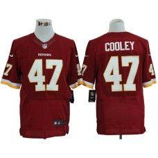 19930a71f Nike Chris Cooley Jersey Elite Team Color Red Washington Redskins  47