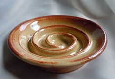 I was looking for a creative soap dish idea and found this. What a great way to keep the soap dry!