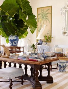 "visualjunkee: "" DOMINICAN DREAM -photography: William Wldron - styling: Howard Christian - text: Chloe Malle - location: Punta Cana, Dominican Republic - AD June 2017 • ""The living-room furniture, including Punta Cana sofa by Bunny Williams Home,..."