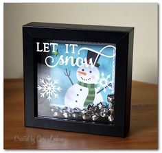 Darling Christmas decor item created by design team member Cari Locken using our December Documented collection