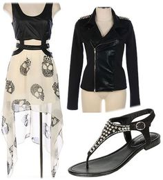 Spring Skull Fashion with spikes & studs from www.shopftgs.com