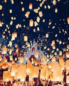 Bedding Home & Garden Devoted Lantern Quilted Bedspread & Pillow Shams Set Loy Krathong Festival Print