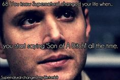 You know Supernatural changed your life when... | We Heart It ...